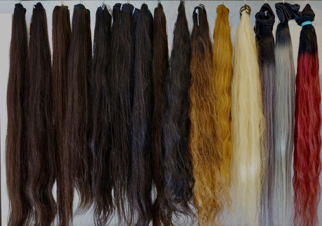 Mèches de cheveux à la vente 100% naturelles à Genève