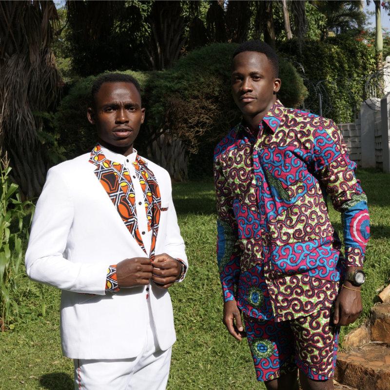 Prêt à porter homme, mode africaine, boutique Goldfingers à Genève