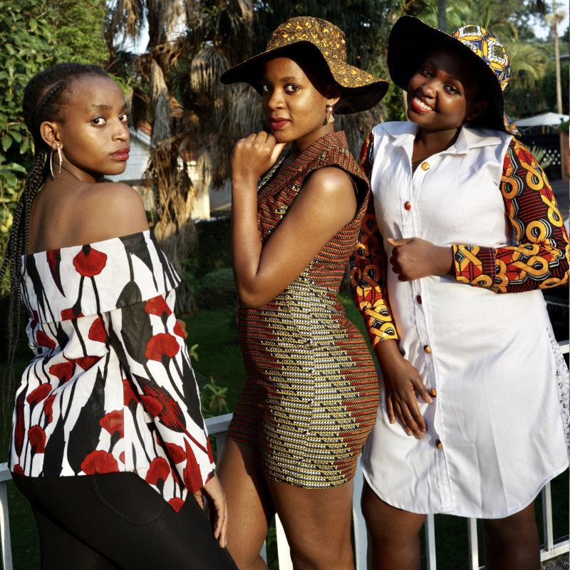 Prêt à porter mode africaine, boutique Goldfingers à Genève